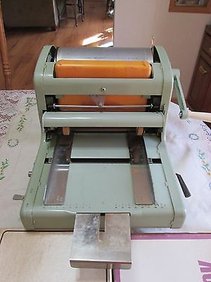 A. B. Dick 210 Spirit Ditto Fluid Duplicator And  2 Boxes Of Master Units Paper