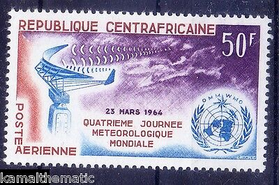 Central Africa 1964 MNH, Meteorology