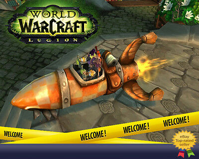 World of Warcraft WoW Mount Geosynchronous World Spinner Mount All EU
