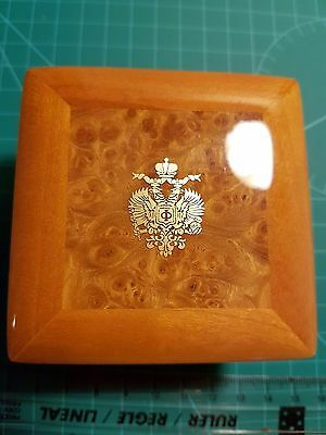 """Fabulous """"faberge"""" Wooden Box For Your Jewelry Or Box Collectors Brand New!!!"""