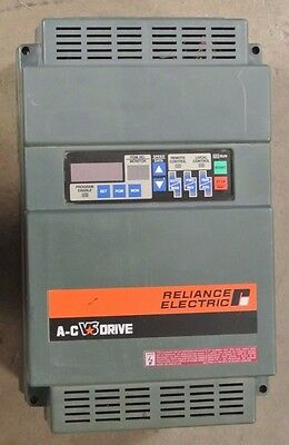 Reliance Electric GP-2000 - 460V 1.7 KVA -  Variable Frequency AC Drive - USED