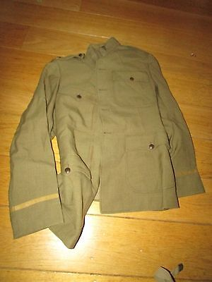 WW1 US Lieut. medical Corp Tunic And Pants  Named Paper