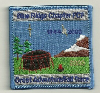 Royal Rangers Patch    2000 Blue Ridge Chapter Fcf  Fall Trace   Camping