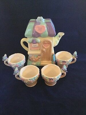 Precious Moments Tea Set