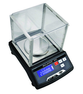 MY WEIGH iBALANCE i201 PRO DIGITAL TABLE TOP BENCH LAB SCALES - 200g x 0.01g