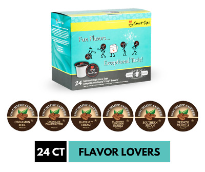 Flavor Lovers Coffee Variety Sampler Pack, 24 Ct, for Keurig K-cup Machines