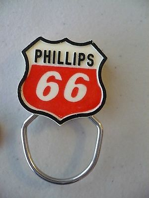 Vintage PHILLIPS 66 OIL Key Ring Snap On