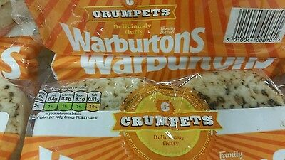 Warburtons Crumpets (4x6 Crumpets=24) Special offer Don't miss out ♡