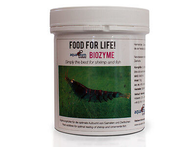 Food for Life: Biozyme - Biofilm Bacter Booster for Cherry Crystal Tiger Shrimp