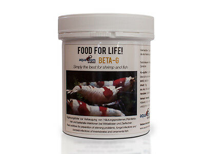 Food for Life: Beta-G Immune Booster Betaglucans for Cherry Crystal Tiger Shrimp