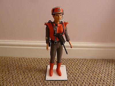 Captain Scarlet 12 inch figure with gun ITC 1993 -  Gerry Anderson