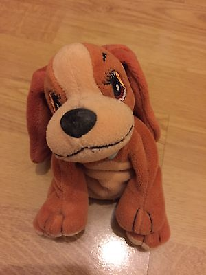 Cuddly Lady and the Tramp dog toy