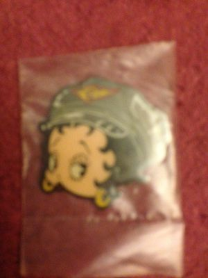 "BETTY BOOP-Metal Magnet-1 1/4"" x 1 1/4""-Hard to Find-Highly Collectible-IN BAG"