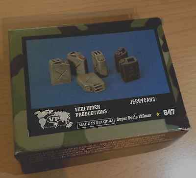 VERLINDEN PRODUCTIONS *847 US jerrycans 120mm