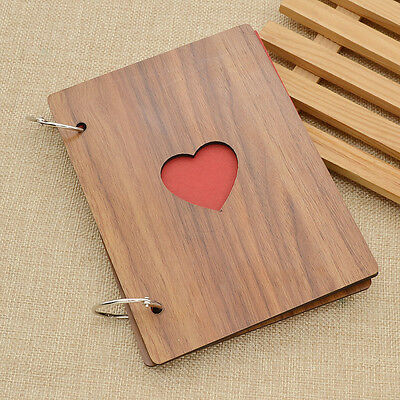 Vintage Wooden Photo Albums Hollow Photo Albums Family Lovers Memory Record