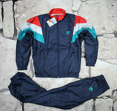 _ ADIDAS _ NEW VINTAGE TRACKSUIT _ 1980's _size S _ D4 _  ULTRA RARE _