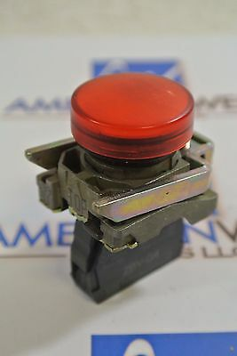 Telemecanique RED Pilot Light ZBV-G4