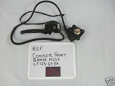 Complete Front Brake Assembly - LF125GY-3A - Master Cylinder and Caliper
