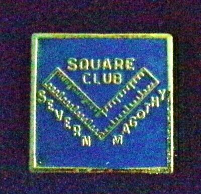 Severn-Magothy Masonic Square's Club hat pin or tie tack