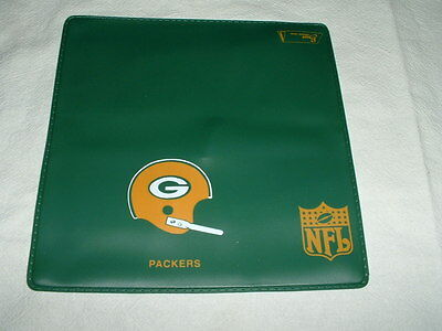 Green Bay Packers Check Book Cover Plastic  Brand New Very Rare..