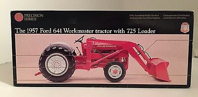 Ertl Precision - 1:16 Scale - 1957 Ford 642 Workmaster Tractor With 725 Loader