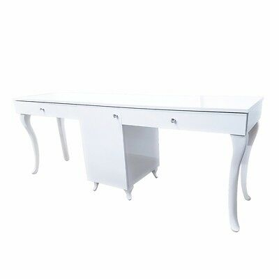 Do not buy - PRUDENZIO Two Station Nail Desk – Bella Diamond Collection