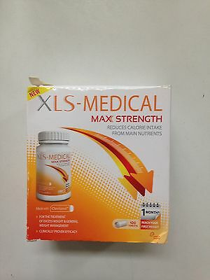 XLS Medical Max Strength Diet Pills for Weight Loss  Pack of 120 Tablets