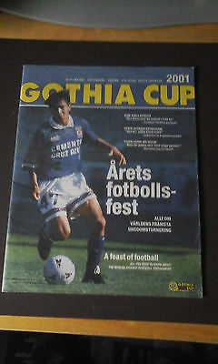 27th Gothia Cup Youth Tournament Gothenburg Sweden programme 15-21 July 2001