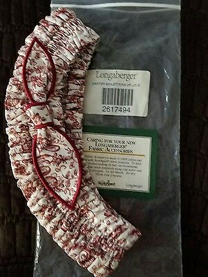 Brand new in package Longaberger Letters of Love Medium Garter