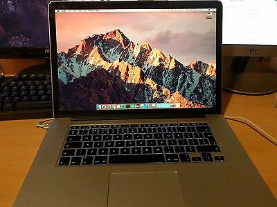 MacBook Pro (Retina, 15-Inch, Mid 2015) 2.5GHz Intel Core i7, 16GB, 512GB SSD