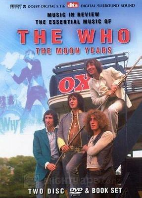 THE WHO - The Moon Years (2 DVD + Book)
