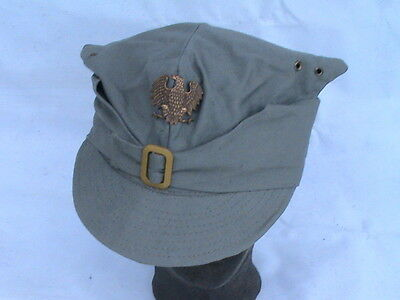 Poland Polish Old Military Cap Rogatywka- 1 Infantry Division - Rare !