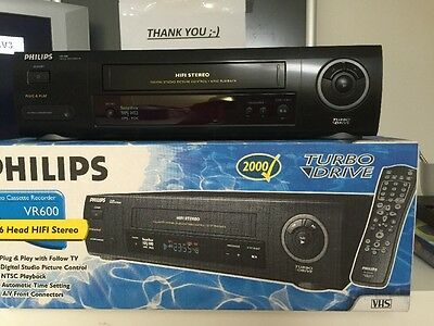 Philips VR600 Turbo Drive BOXED