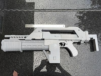 Aliens Pulse Rifle 3d Printed LIFE SIZE SCALE M41A PULSE RIFLE MOVIE PROP