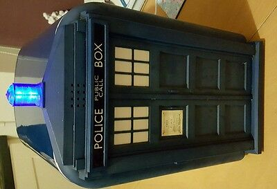 Doctor Who Tardis Mini Fridge/cooler With Lights And Sounds, collectable.
