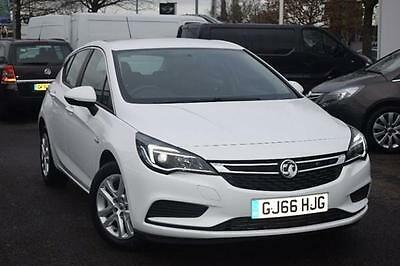 2016 Vauxhall Astra 1.6 CDTi Design 5dr Diesel Manual