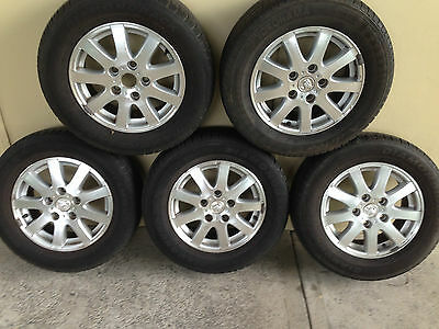Commodore  Berlina Wheels and Tyres x 5 - 15inch