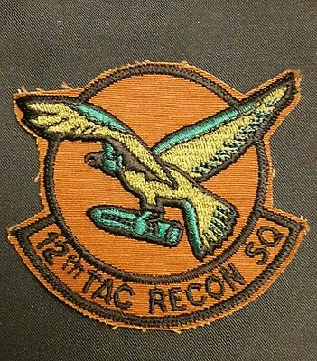insigne / patch US AIR FORCE 12th TAC RECON SQ