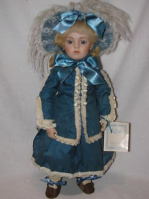 "17"" Gorgeous Reproduction Of The Antique Bru Jne Bisque Doll"