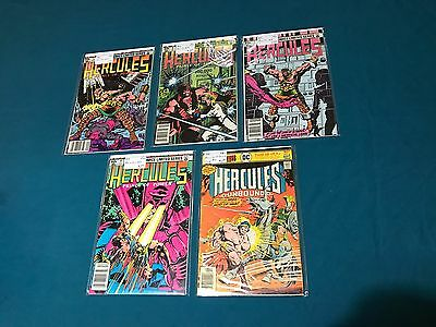 Marvel And DC Comics Hercules Lot Of 5 Prince Of Power