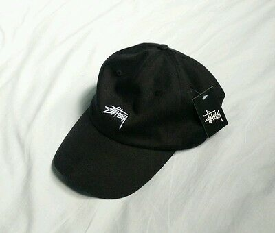 Black Stussy Hat Cap brand new with tags
