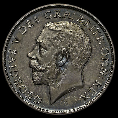 1911 George V Silver Proof Shilling