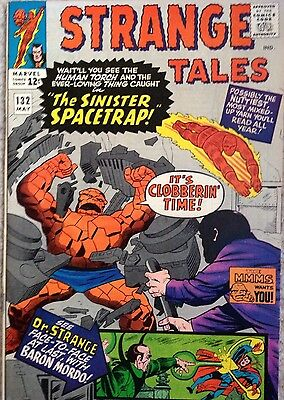 Strange Tales #132 -1965 - High Grade VFN+Dr Strange - Torch - The Thing Ditko