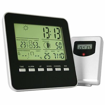 Jago Weather Station and Transmitter Indoor Outdoor Temperature Air Humidity G