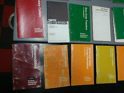 LOT 37 John Deere Product Information Manual Handbook Pocket Tractor Snowmobile