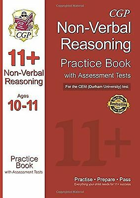 11+ Non-Verbal Reasoning Practice Book with Assessment Tests (Ages 10-11) for...