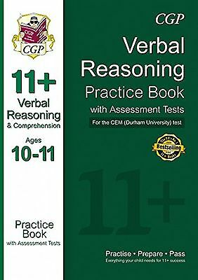 11+ Verbal Reasoning Practice Book with Assessment Tests (Ages 10-11) for the...