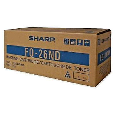 New Sharp Fax Imaging (Toner) Cartridge FO-26ND - Up to 2,000 Pages - Black