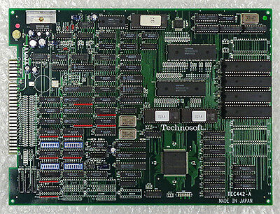 Hyper Duel Arcade Circuit Board TECHNOSOFT Japan Shooting Game PCB EMS F/S USED