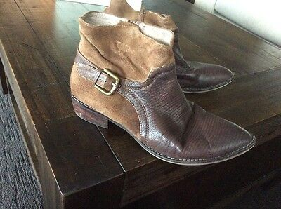 Jo Mercer leather boots sz 40 or 9